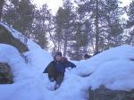 13.04.2006 Das erste Mal klettern 2006: Vallberget :: 0031
